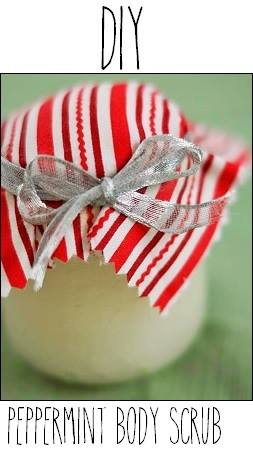 DIY: Peppermint Body Scrub