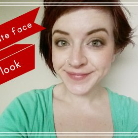 LOTD: Five minute face; neutrals